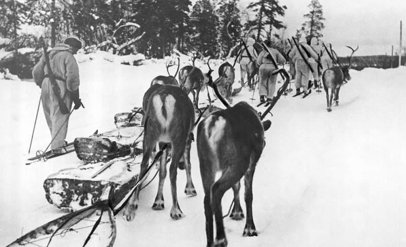 A legendás finn síelő katonák